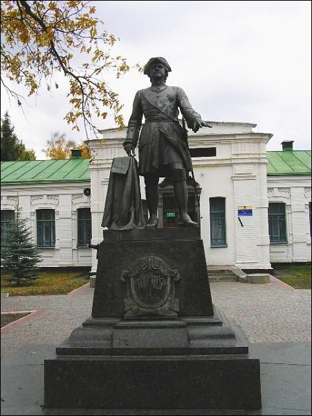 Памятник Петру I, Яковцы, Полтава, музей истории Полтавской битвы